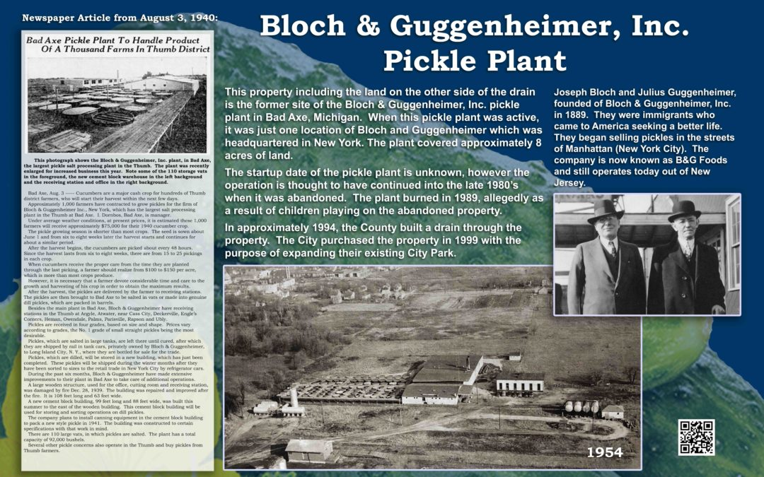 Bloch & Geggenheimer, Inc. Pickle Plant